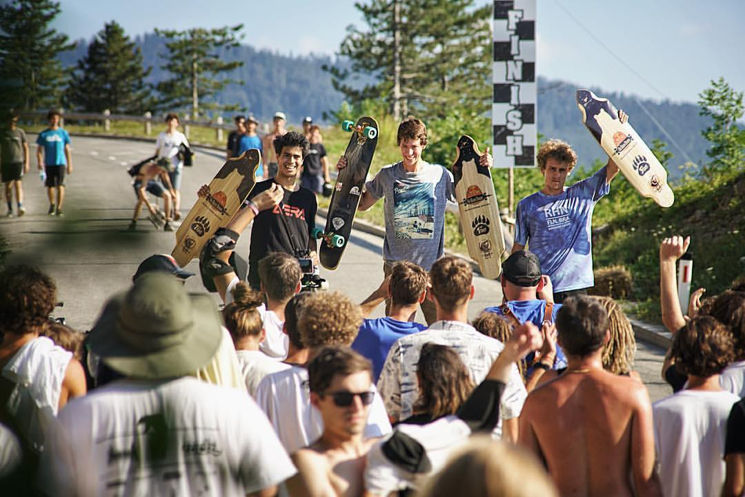 Red Bull No Paws Down 2016 podium. Photo by Brandon Desjarlais