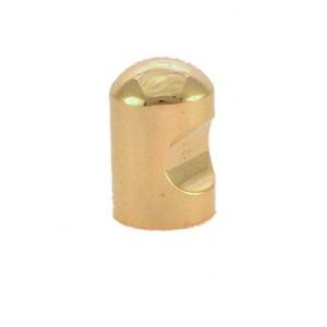 CID0089G8/S  18mm DIA. BULLET KNOB Solid Brass Polished (1)