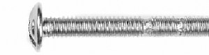 BM4X4500Z - Metric Break Away Hardware Screw - M4 x 1-3/4 in. (YB41)