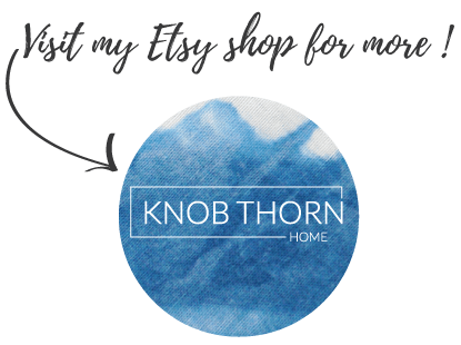 Knob thorn home etsy shop
