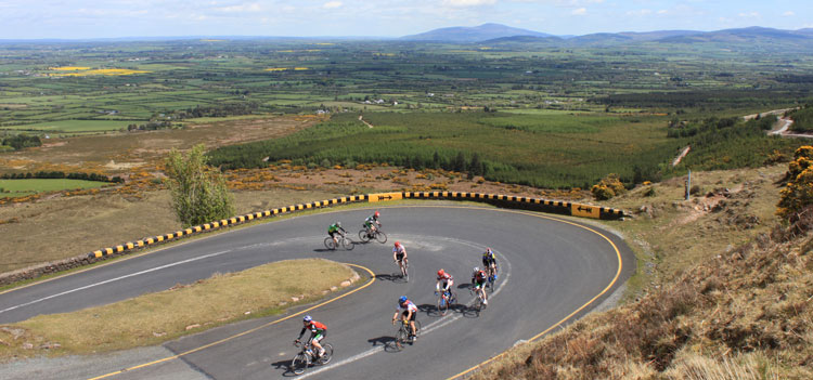 Cycling around the Vee in Co. Tipperary