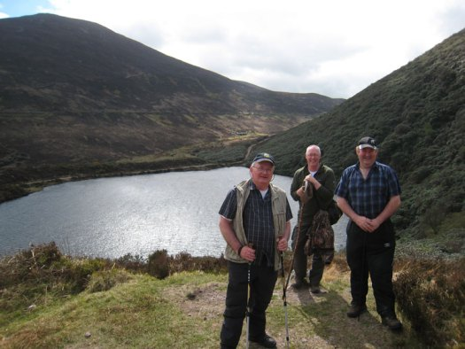 Knockmealdown Active Walkers at Bay Lough