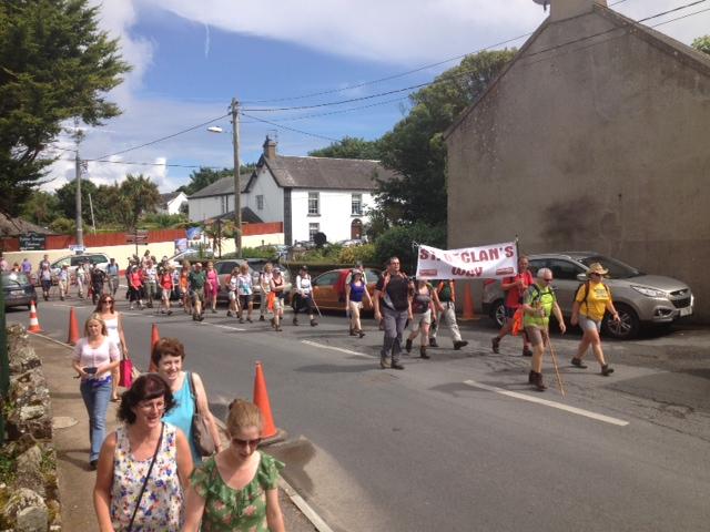 Walkers Enter Ardmore