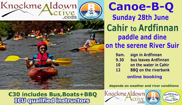 Suir Canoe Trip June 28th