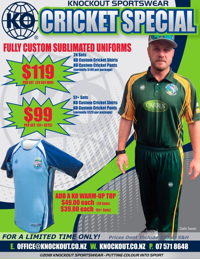 Cricket Uniform Special _ Knockout Sportswear