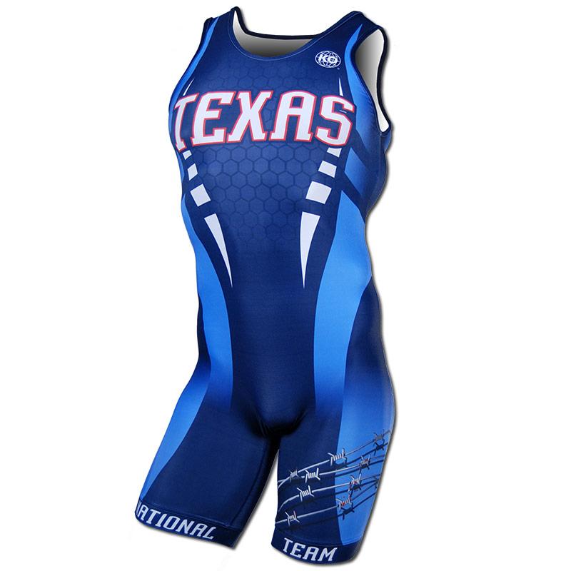Texas National Team 2015 - Navy Singlet