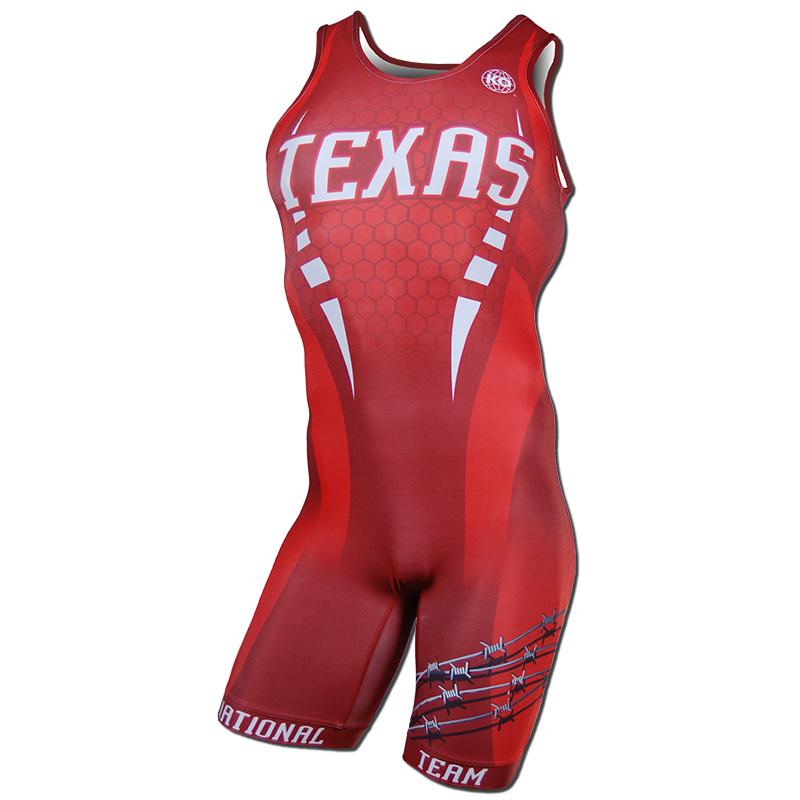 Texas National Team 2015 - Red Singlet