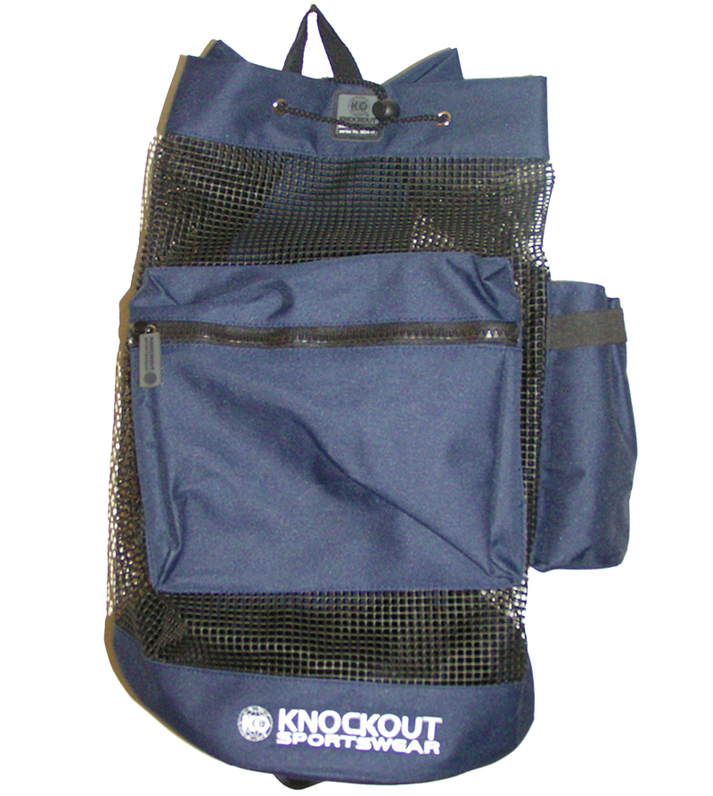 Navy Mesh Bag