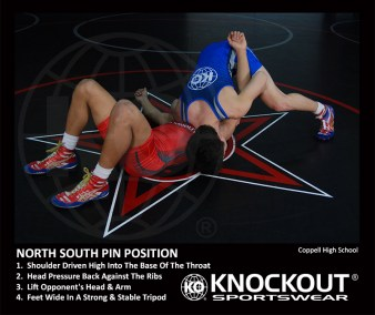 north-south-pin-position