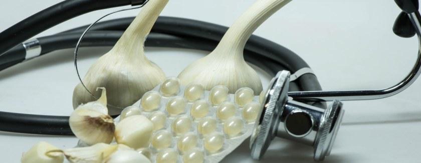 Knoblauch Medizin