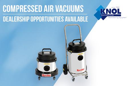Compressed Air Vacuum Cleaners Knol UK