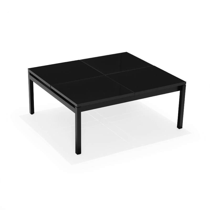 butler coffee table square