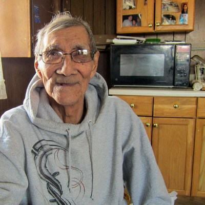 Patrick Omiak, an elder from Little Diomede, Alaska