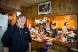 Nell and the cooking crew