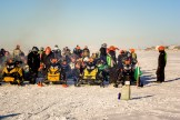 Nome-Golovin Racers at the Start Line