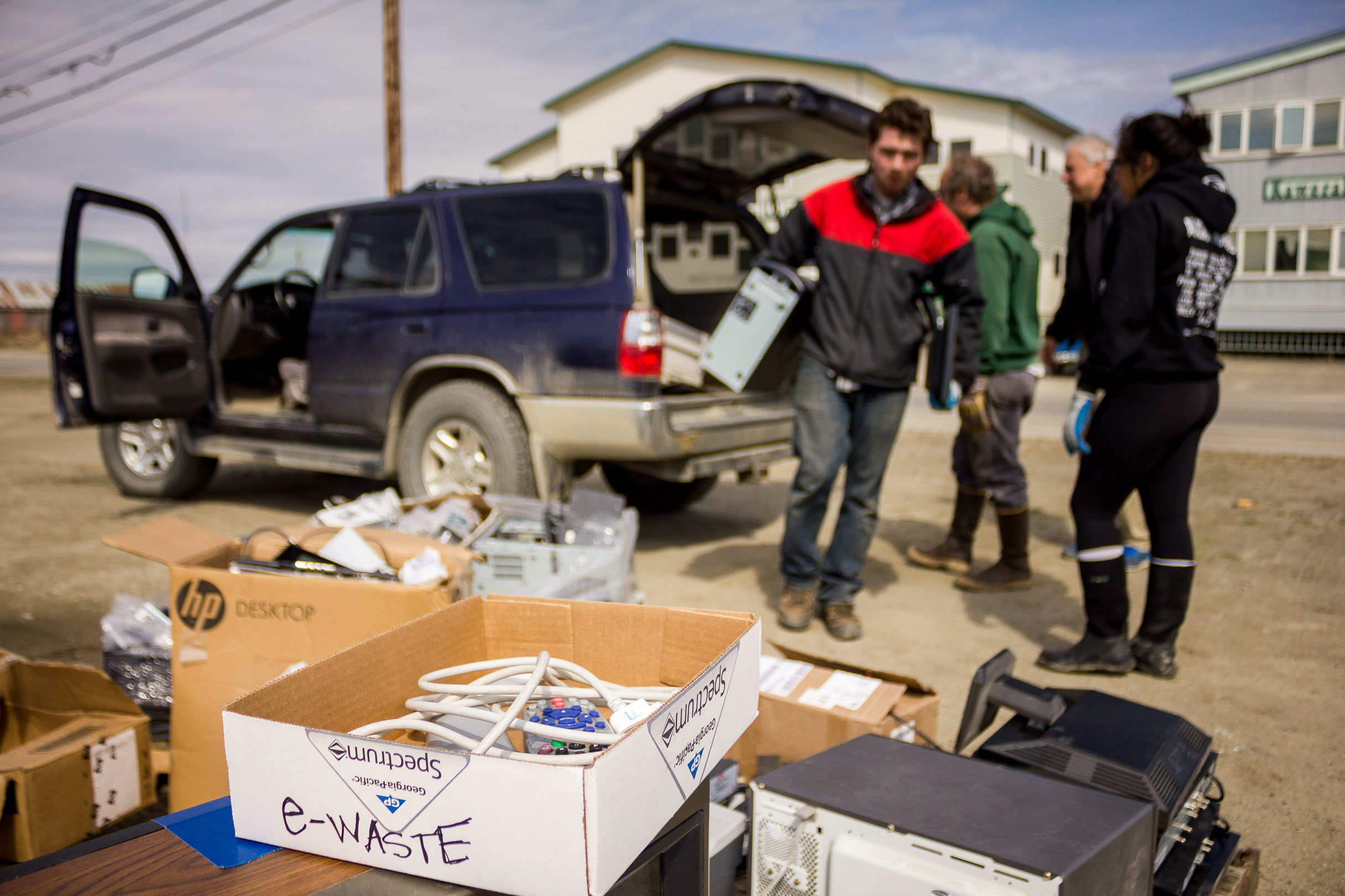 2015 e-Waste Pickup in Nome