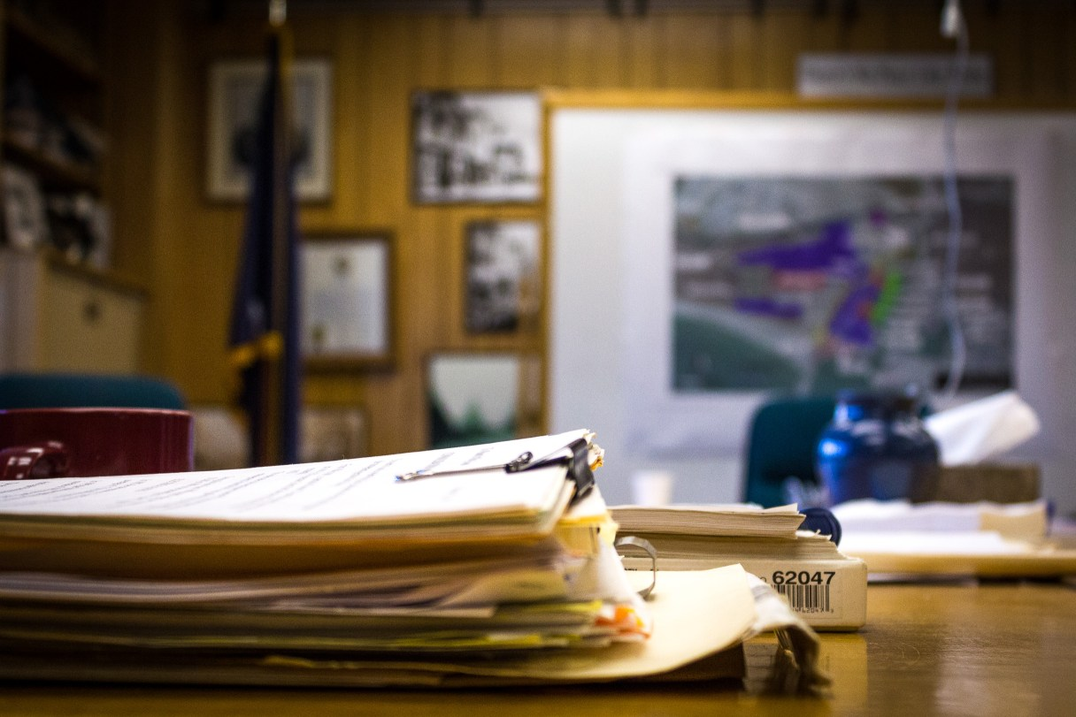 Nome City Council Chambers. Photo: Matthew F. Smith, KNOM file.