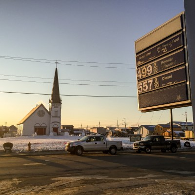 Gas Prices in Nome, Alaska, March 2016