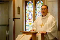 Fr. Ross proclaims the Gospel, July 14, 2016