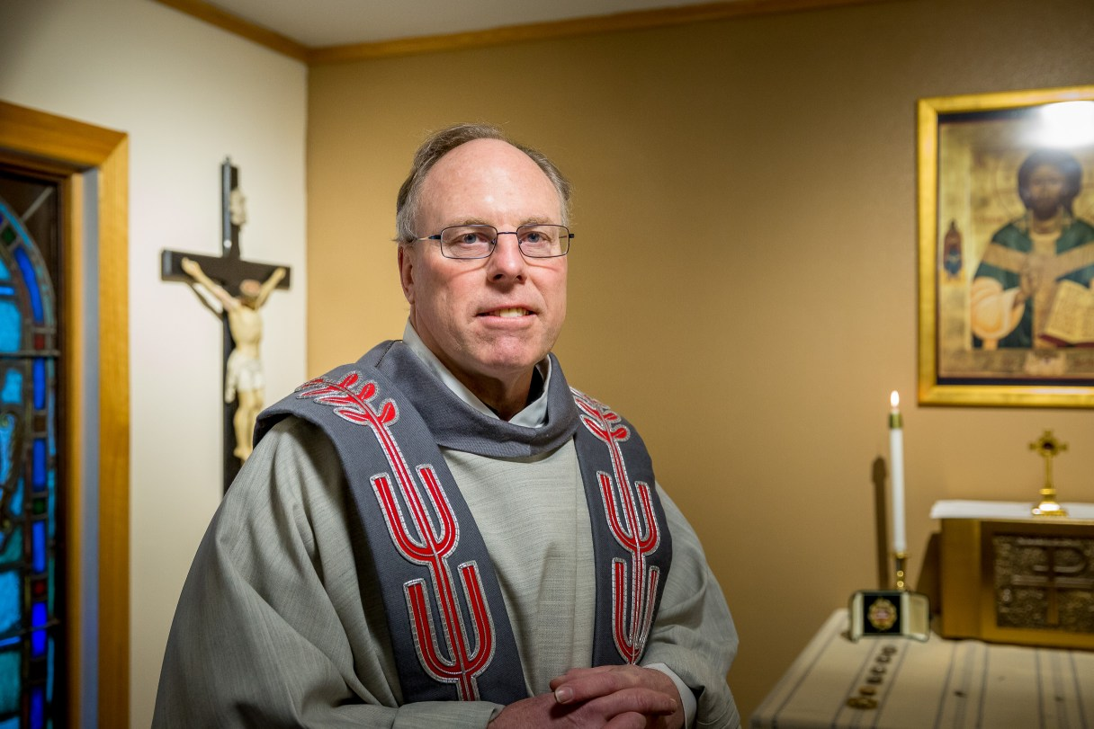 Father Tom Kuffel at St. Joseph Catholic Church in Nome.