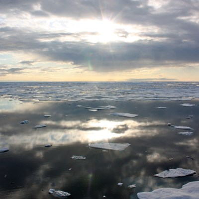 Sea ice in the Chukchi Sea