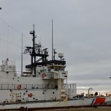 US Coast Guard Cutter Alex Haley stopped in Nome near the end of its seasonal operations in the Arctic.
