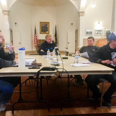 The Nome Port Commission met in Old St. Joe's for its regular meeting on October 19, 2017.