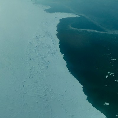 Sea ice on Kotzebue Sound, April 2018 (Photo: Gabe Colombo, KNOM)