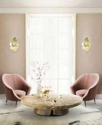 Soft pink chair for interiors and wedding inspiration