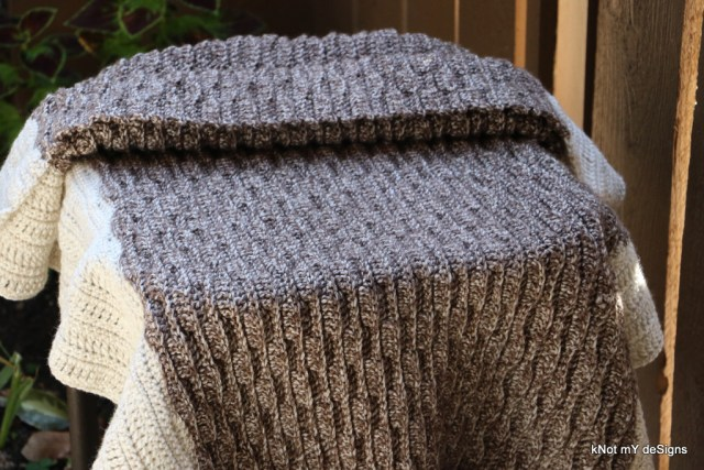 Winter / Fall Seasoned Crochet Taupe Pearl Throw / Afghan / Lap Blanket for everyone - Home decor - kNot mY deSigns