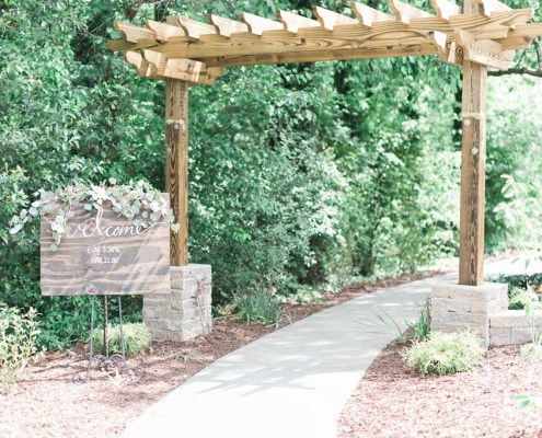 Outdoor Ceremony Entrance