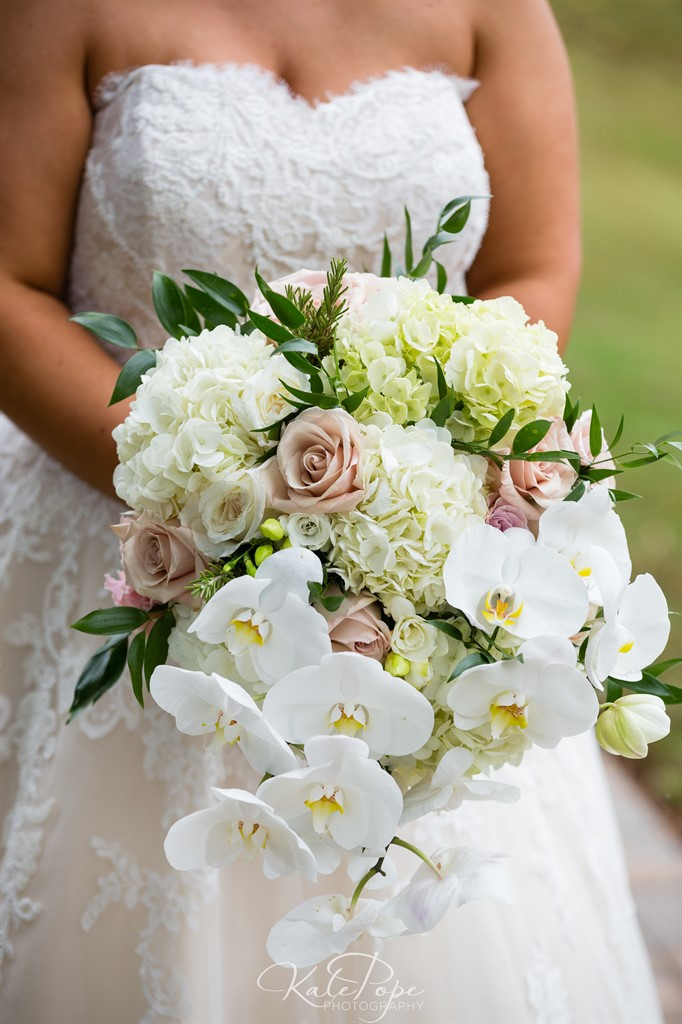 Bridal Bouquet Close-Up