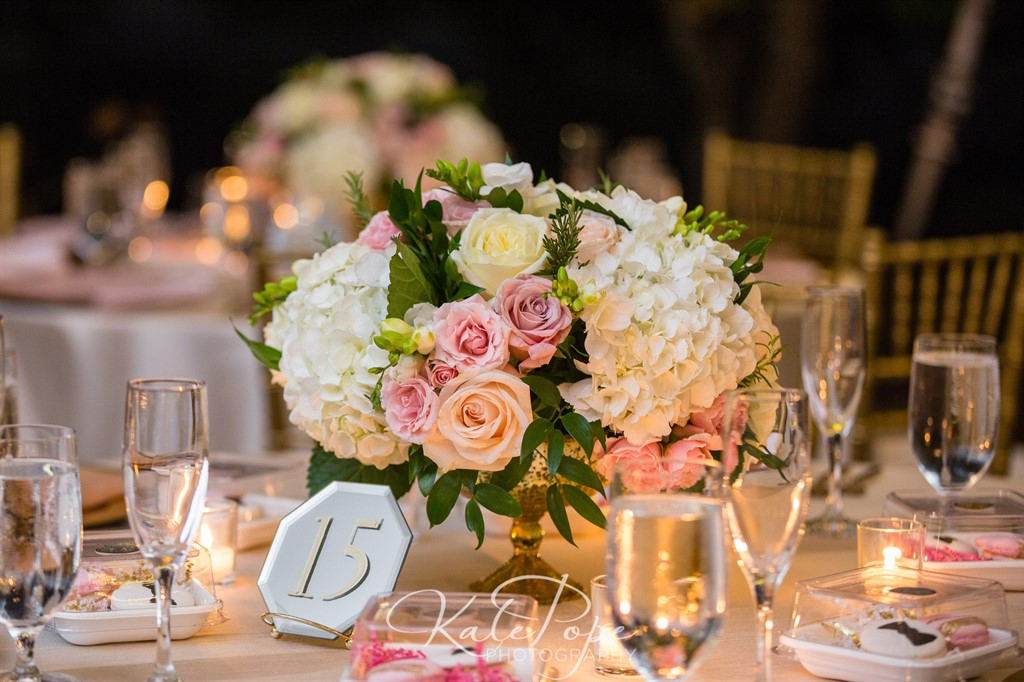 Beautiful Blooms Reception Tables