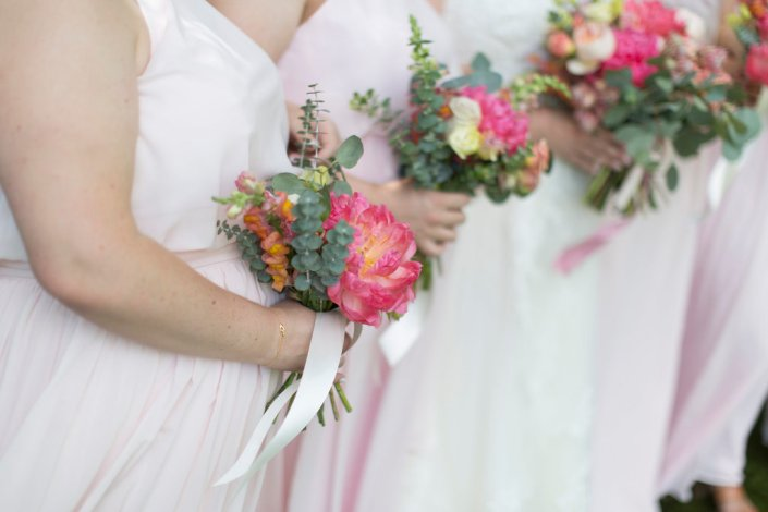 bridesmaid-bouquets-coral-charm-peonies-blush-wedding