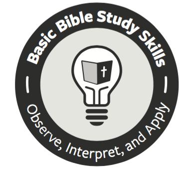 Basic Bible Study Skills