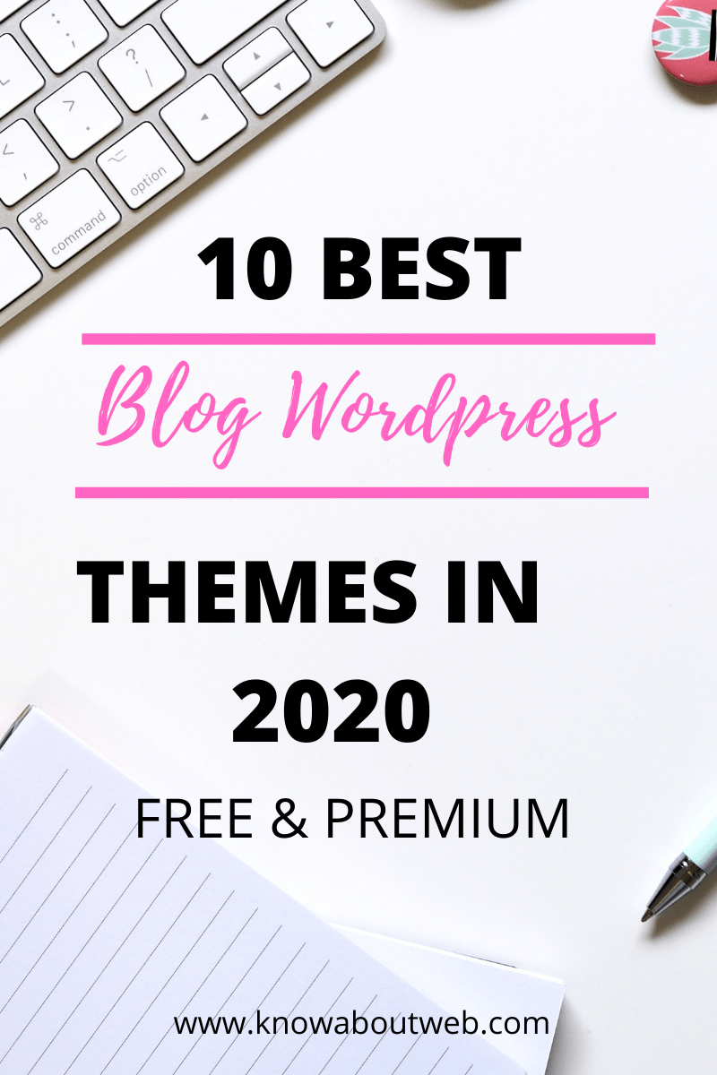 Read more about the article Top 10 Blog WordPress Themes In 2021