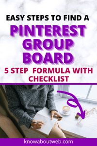 Read more about the article 5 Killer Steps to Find Pinterest Group Boards To Drive Traffic To Your Blog