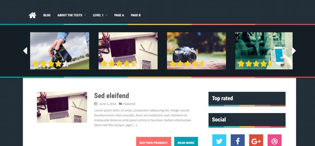 aReview-free review wordpress themes