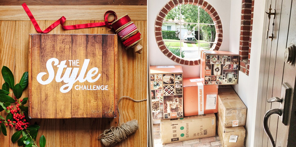 The Home Depot Holiday Style Challenge Welcome Home