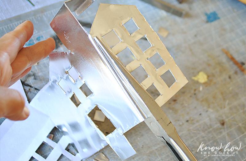 little metal houses bend