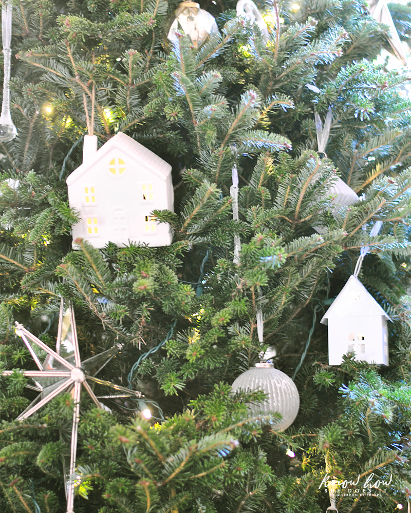 Holiday Small Home Tour tree ceramic houses