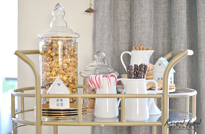 Bar cart Sweets bar cart 2