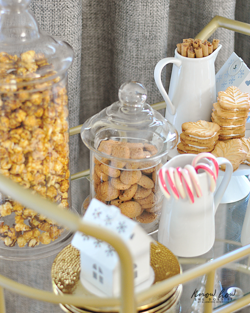 Sweets bar cart 4