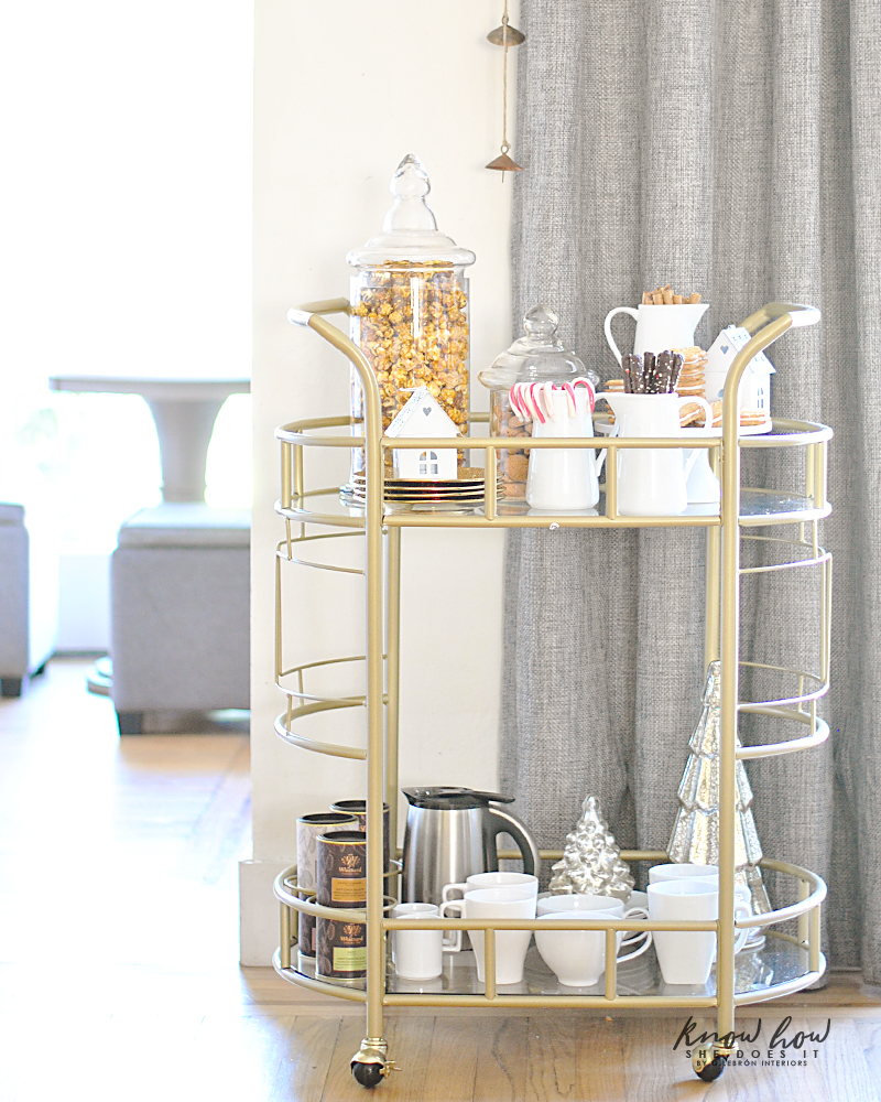 Sweets bar cart 5