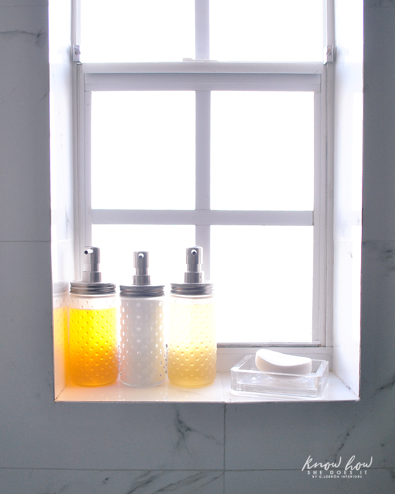 Bathroom Organization Vertical shampoos