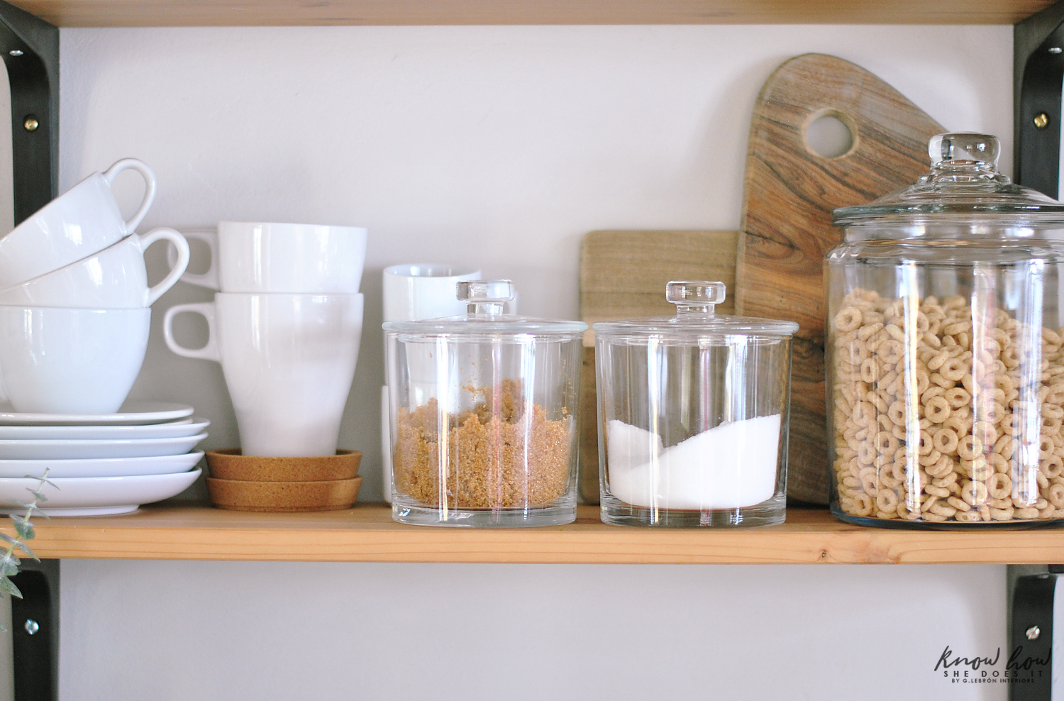 Coffee Station And Storage Ideas For Small Kitchens Featured