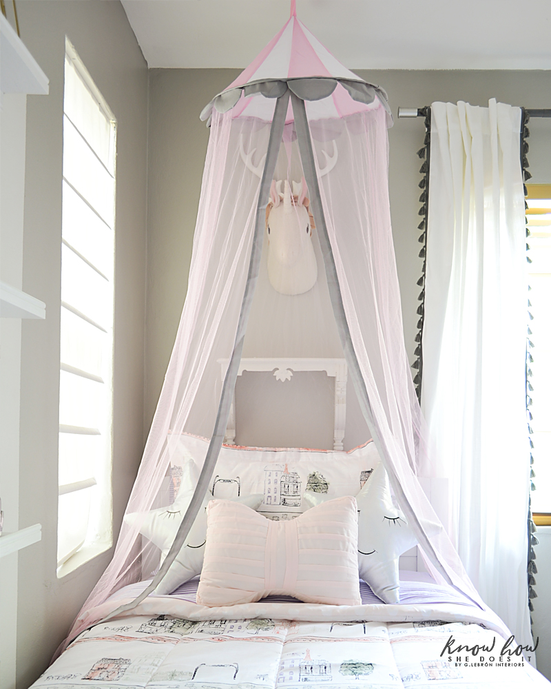Bringing Happiness Girls Room canopy 2