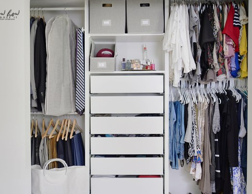 organizing tips for a clutter-free closet