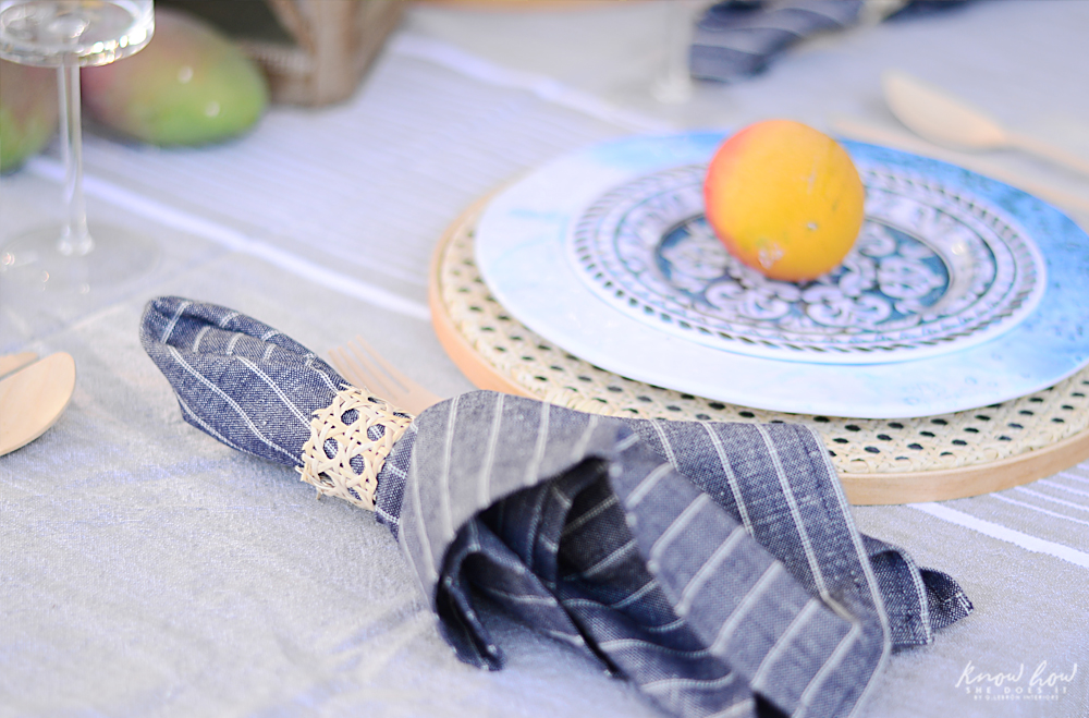 HomeGoods Summer Home Tour Table Setting 5