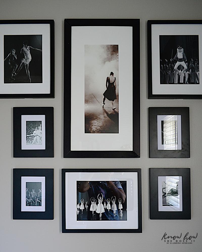 BHG Ballet School Refresh Gallery Wall